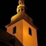 Marienkirche bei Nacht